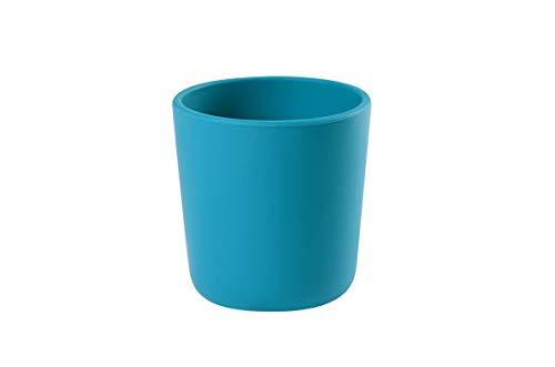 Béaba - Vaso silicona, unisex, color azul