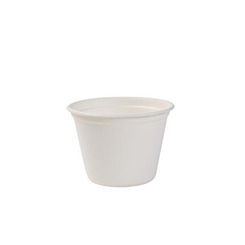 BIOZOYG Taza de Sopa ecológica de caña de azúcar I 50 Piezas Vaso desechable de 450 ml I Taza desechable I vajillas Desechables orgánicos Vaso biodegradables, compostables