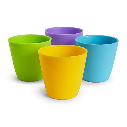 Munchkin - 4 tazas de 237 ml para niños