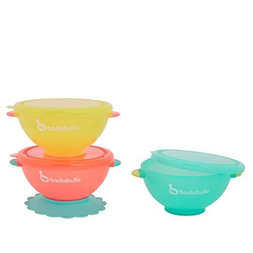 Badabulle Funcolors Bowls Lote de 3 cuencos