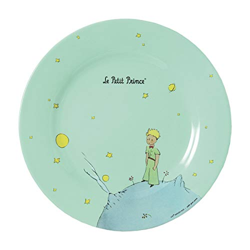 Petit Jour Paris – Plato verde El Principito 23 cm – Perfecto para los pequeños pasteles.
