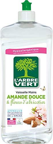 El árbol verde líquido–Vajilla de manos Almendra Dulce 750ml
