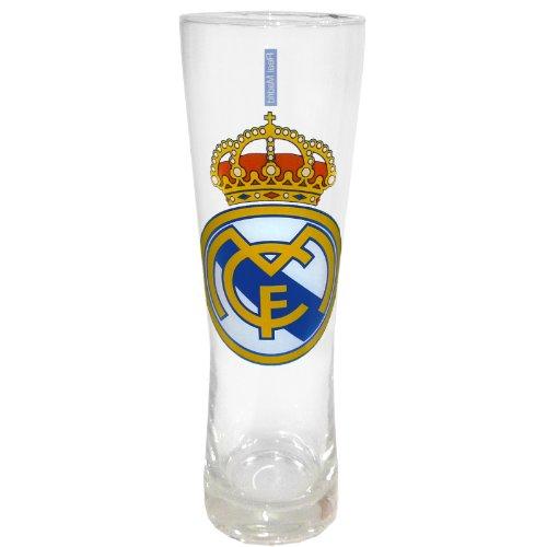 Real Madrid - Vaso Alto para Cerveza de Estilo Peroni - Producto Oficial